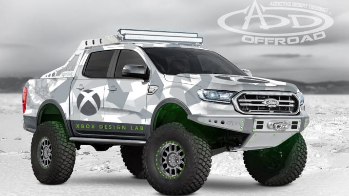 2019 Addictive Desert Designs Xbox Ford Ranger