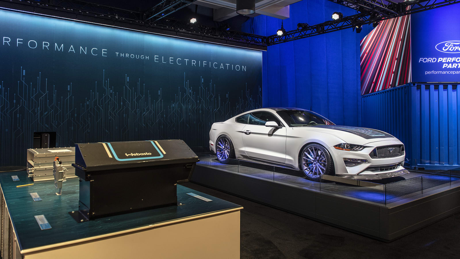 Ford Webasto Lithium Mustang EV: Three interesting facts we learned