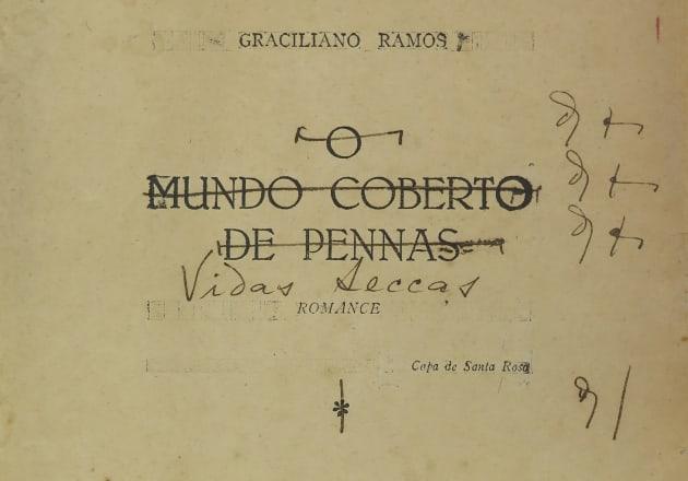 Página que mostra o título anterior à escolha por 'Vidas Secas'.
