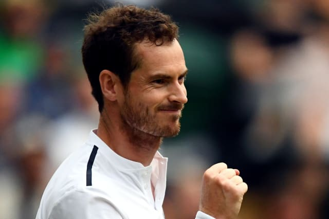 Andy Murray makes winning return at Battle of the Brits
