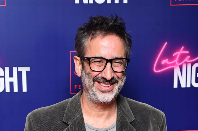 BBC appears 'cowardly' for censoring Jo Brand joke, David Baddiel says