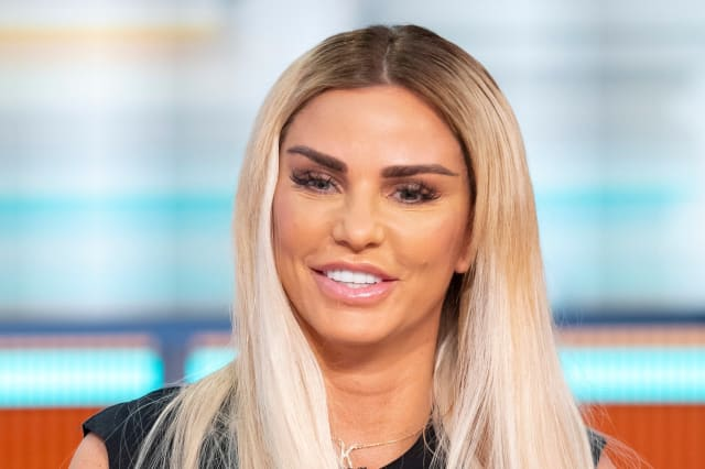 Katie Price says she looks like a 'Space Invader' after cosmetic procedure