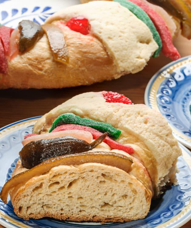 Rosca de Reyes receta.