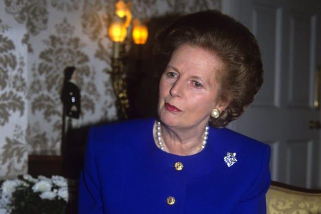 Politics - Margaret Thatcher 10 Year Anniversary - 10 Downing Street