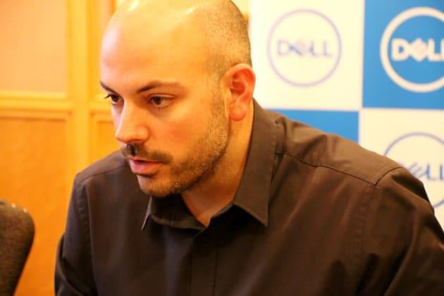 エイゾール氏はeスポーツ界でも著名。デルのゲーミングPC「ALIENWARE」も担当する。
