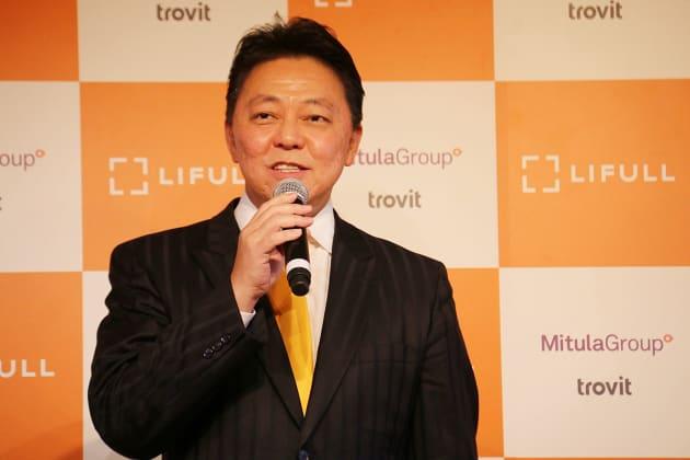 株式会社LIFULL井上高志 代表取締役社長