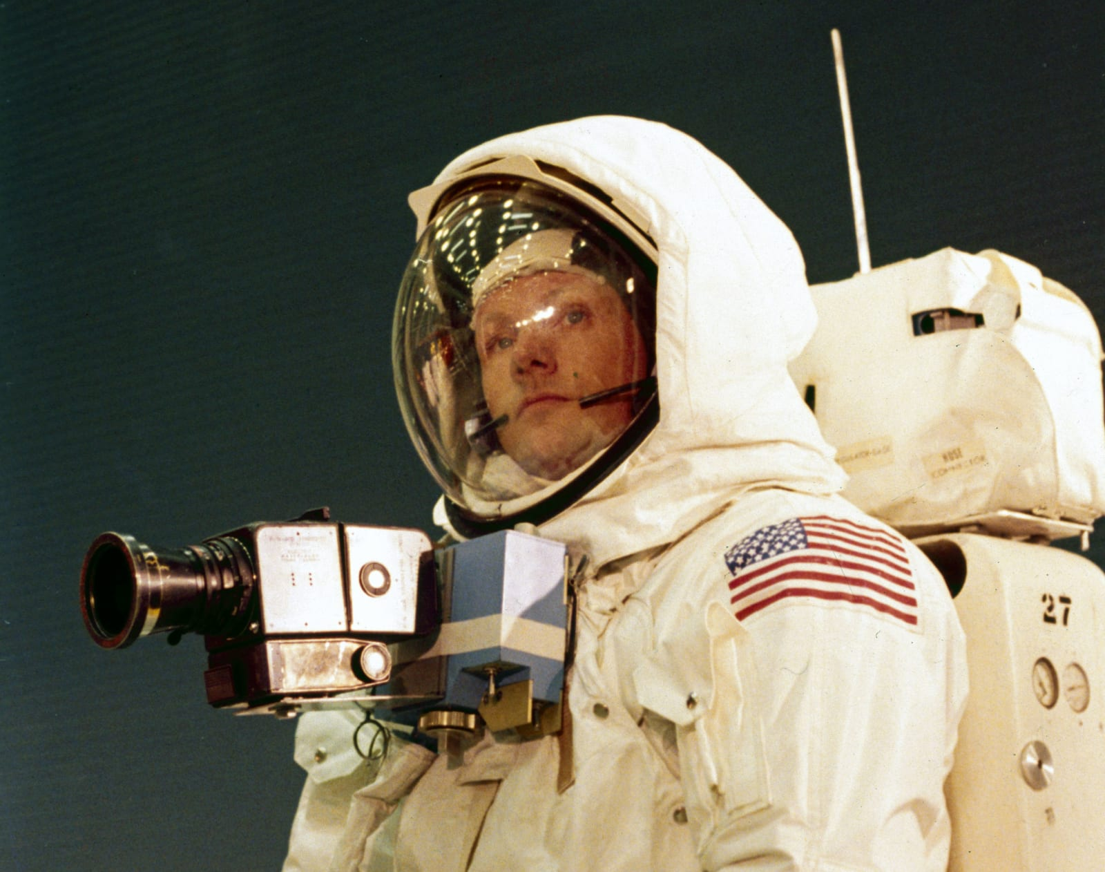 Apollo 11 astronaut Neil Armstrong, 1969.