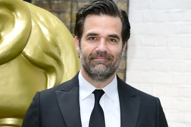 Rob Delaney hails NHS as 'pinnacle of human achievement' as he backs Labour