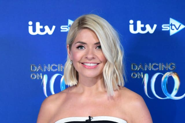 Holly Willoughby ruffles feathers with low-cut DOI dress