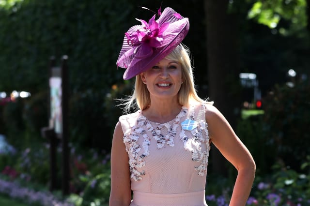 Nicki Chapman reveals surgery for brain tumour 'the size of a golf ball'