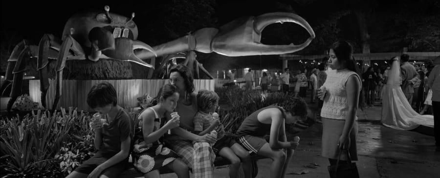 Escena de la película 'Roma'. Imagen: