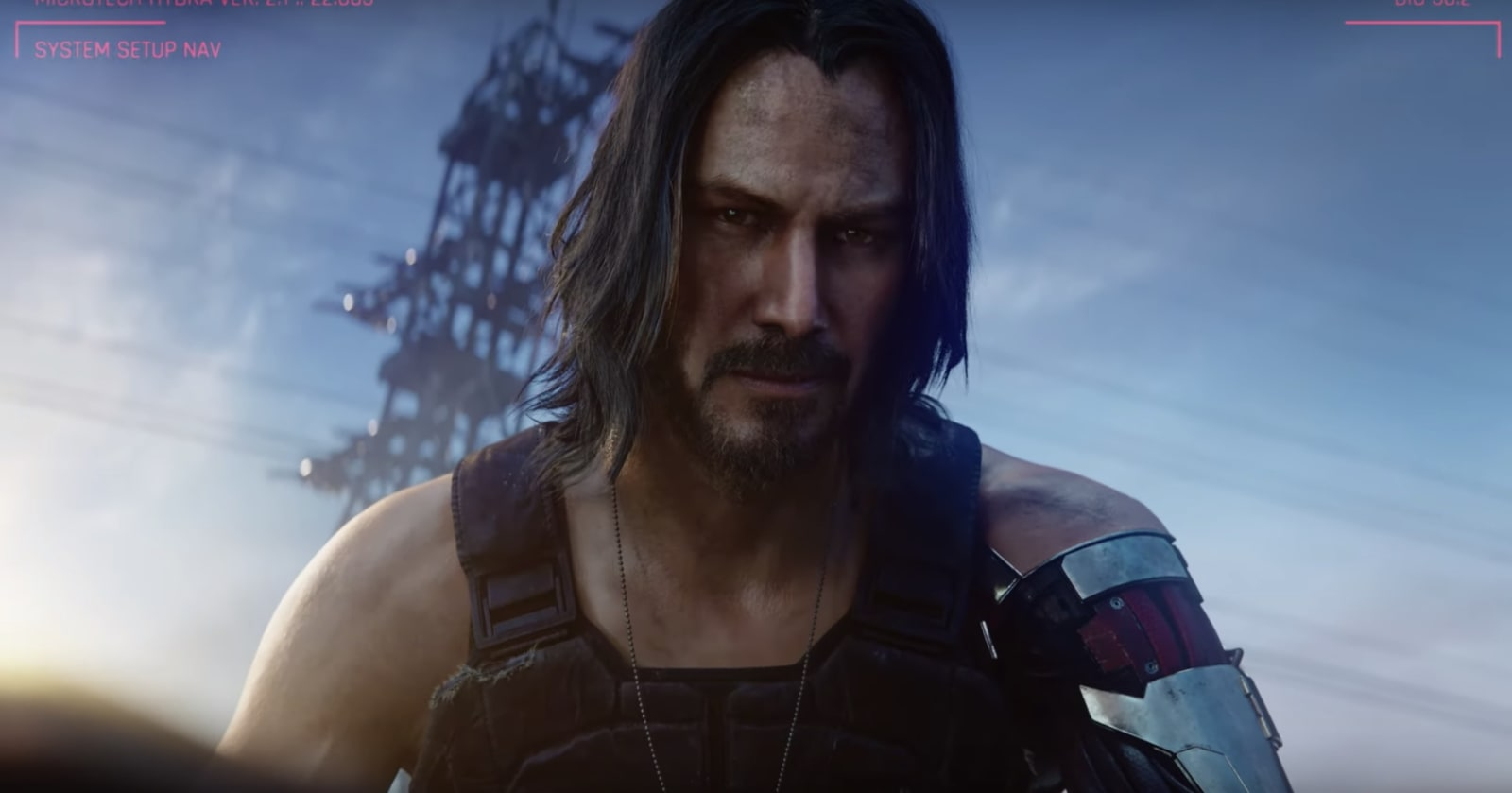 'Cyberpunk 2077' comes out next April, and Keanu Reeves is in it