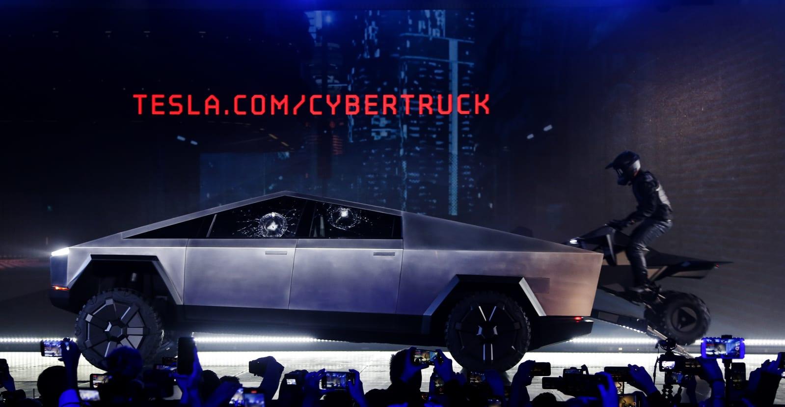 特斯拉 Cybertruck 獲得了 14 萬張首日預購單 1