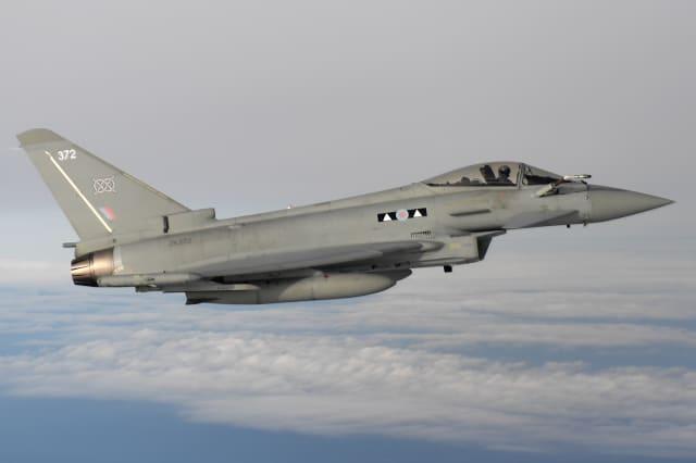 RAF jets based in Estonia intercept Russian planes