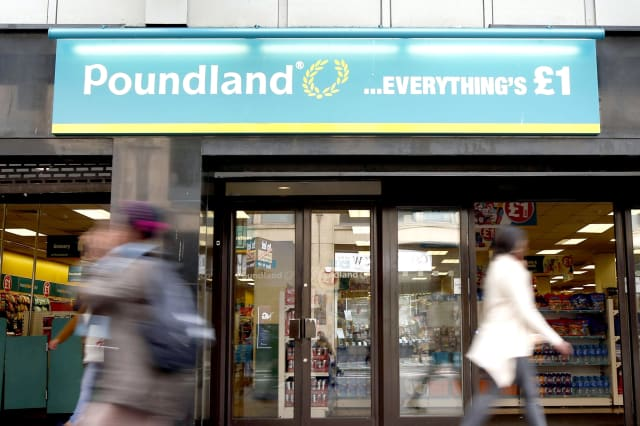 'Engagement rings' on sale in Poundland