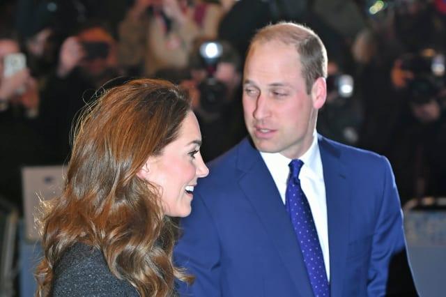 Royal visit to the Noel Coward Theatre