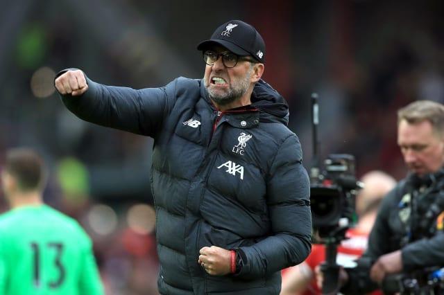 Liverpool end wait for Premier League title