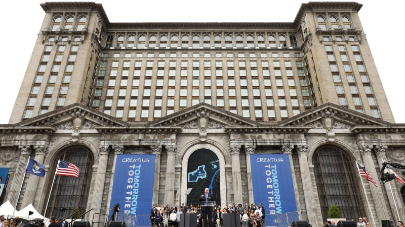 Ford Announces Its Plans For Detroit's Historic Michigan Central Station