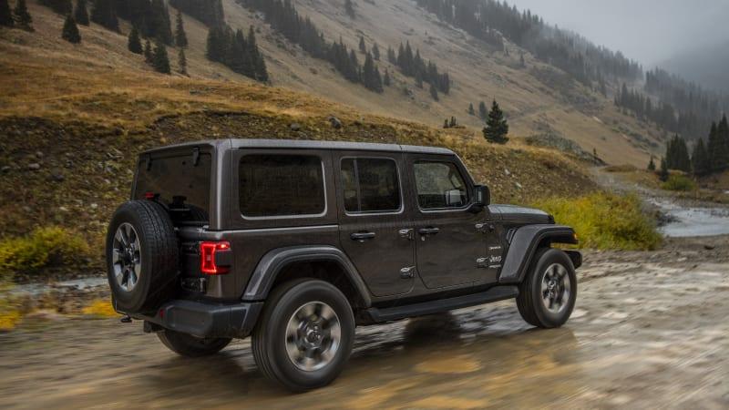 All-new 2019 Jeep Wrangler Sahara