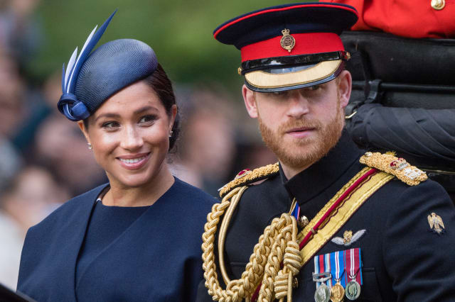 Meghan Markle flashes new ring sparking 'push present' rumors