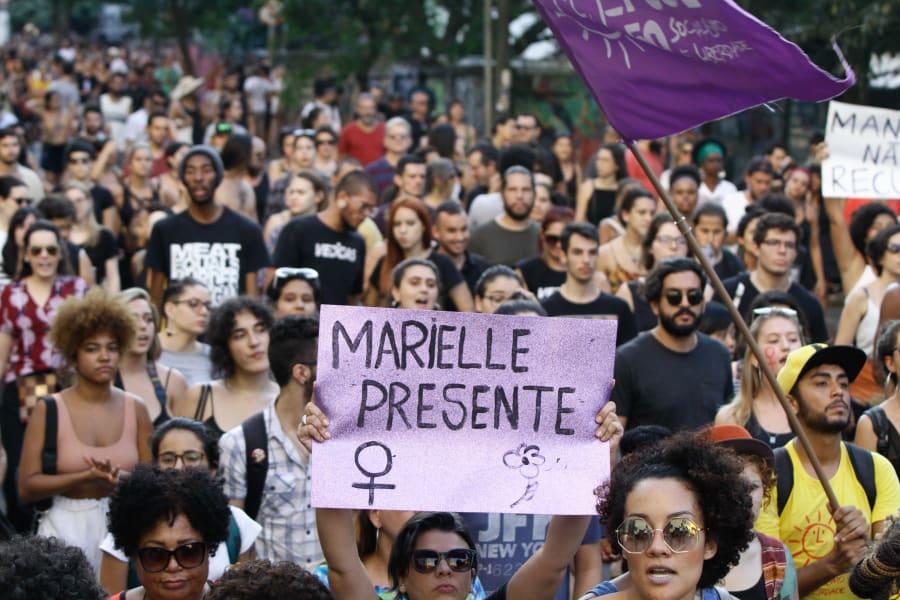Protestos contra o assassinato de Marielle e em defesa dos direitos humanos tomaram as ruas de diversas cidades do País.