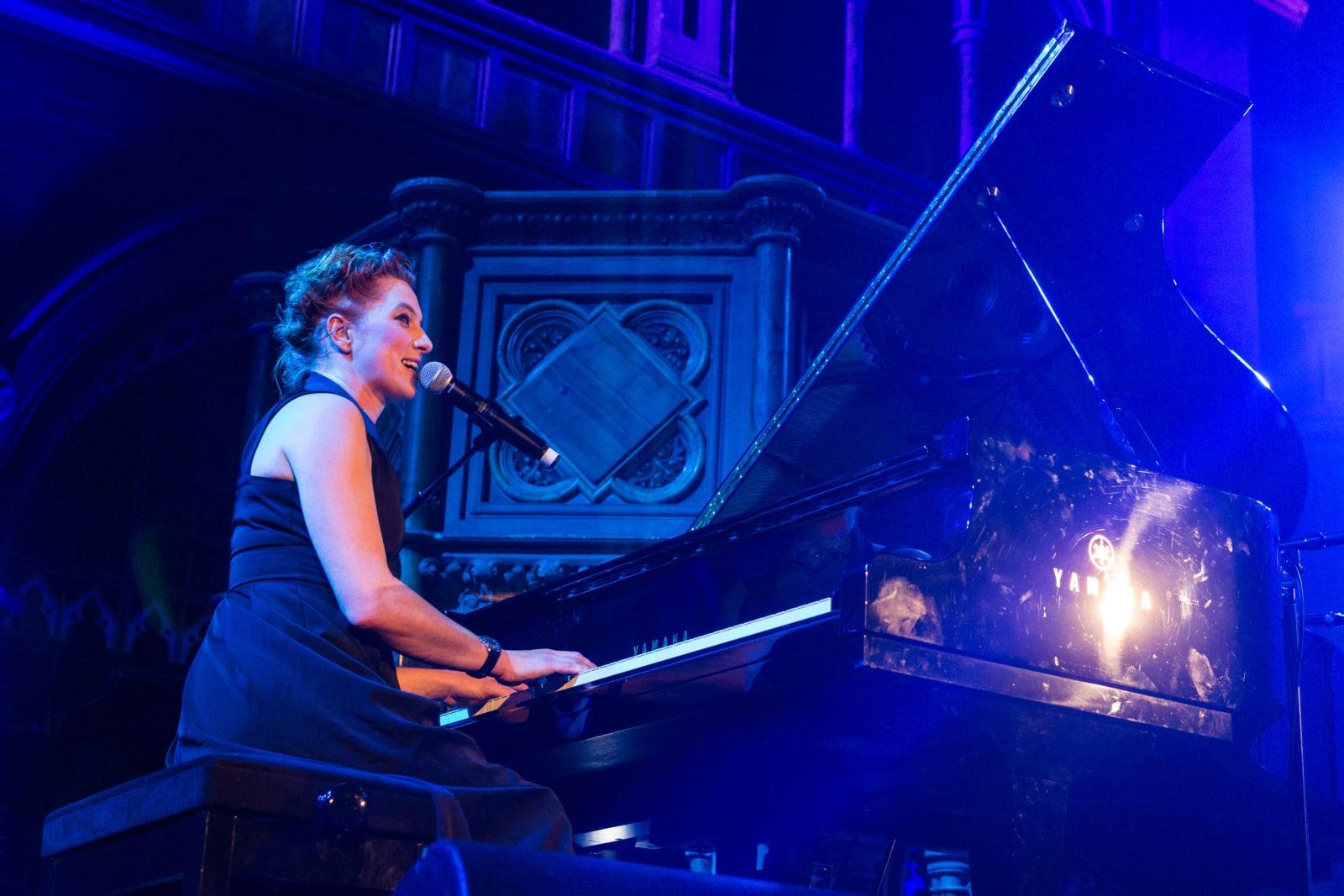 Amanda Palmer Performs At Union Chapel, London