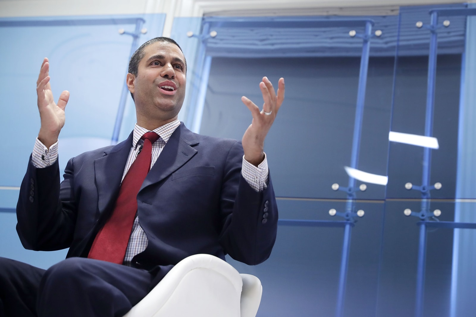 FCC Chairman Ajit Pai Speaks At American Enterprise Institute
