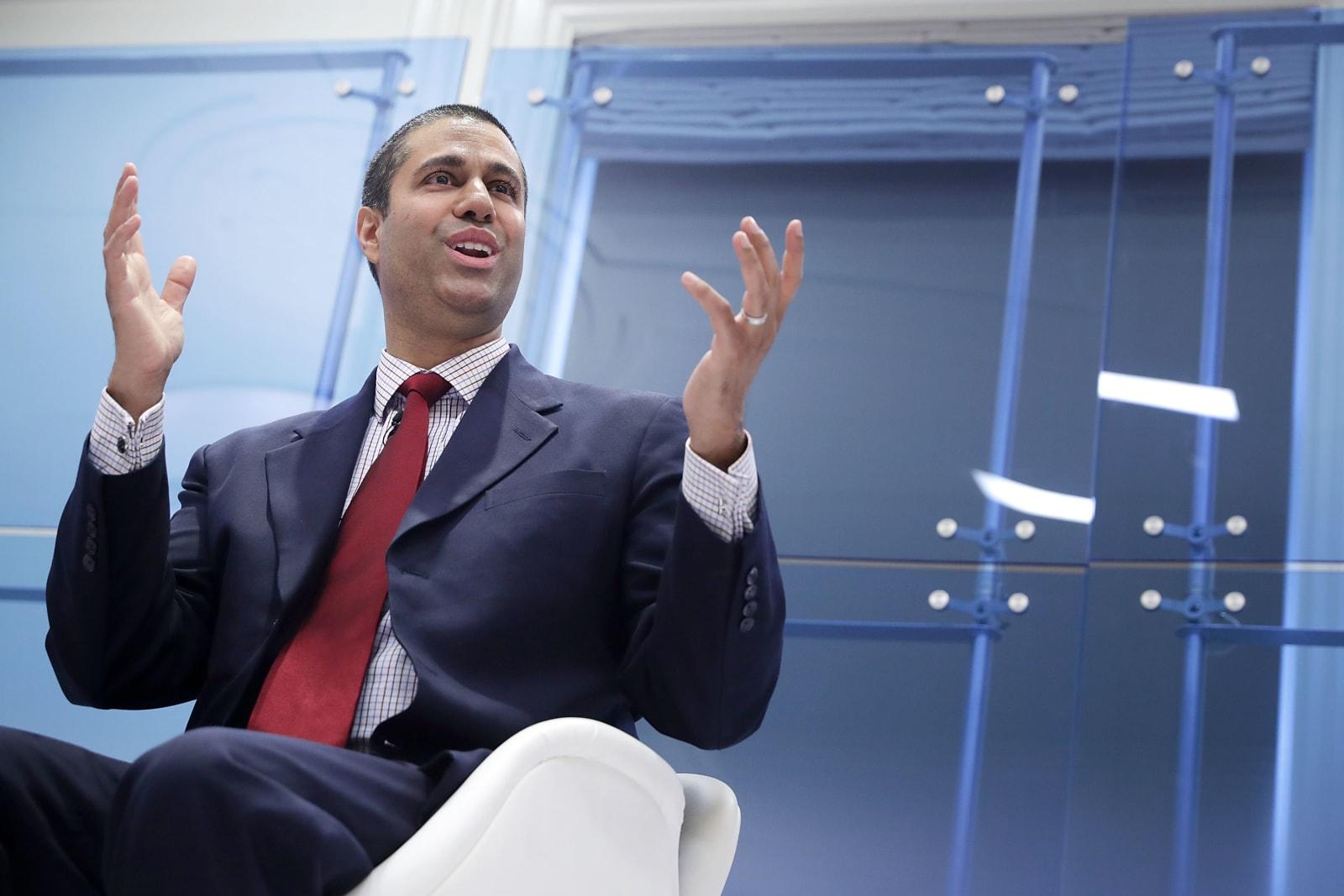 FCC Chairman Ajit Pai Speaks At American Enterprise Institute