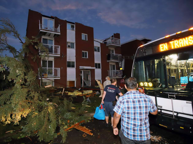 Tornado Knocks Out Power For More Than 145 000 Ottawa Gatineau Residents Huffpost Canada