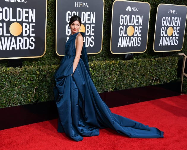 Image result for gemma chan golden globes