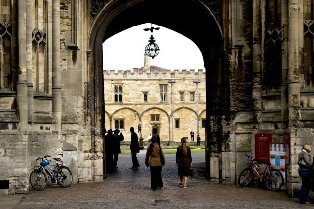 Students at Oxford University