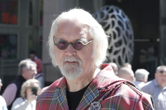 Grand Marshal Billy Connolly at the Tartan Day Parade 2019