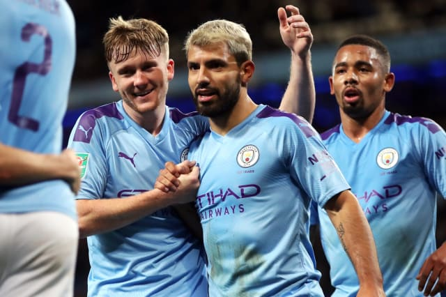 Aguero bags brace on 350th Man City appearance in cup success over Southampton