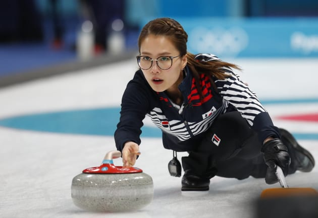 カーリグ女子・韓国チーム主将のキム・ウンジョン選手
