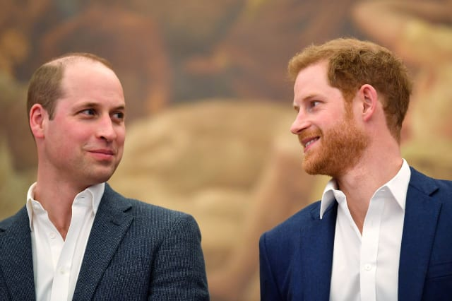 Harry and William's relationship is improving, following 'patchy' period