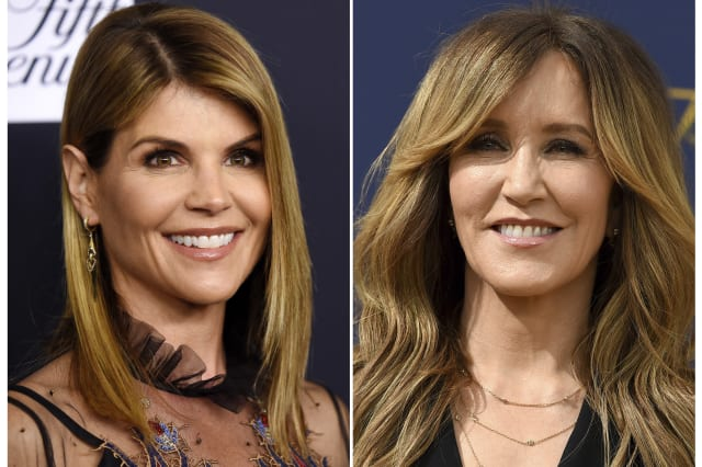 Actresses Huffman and Loughlin charged in college bribery case
