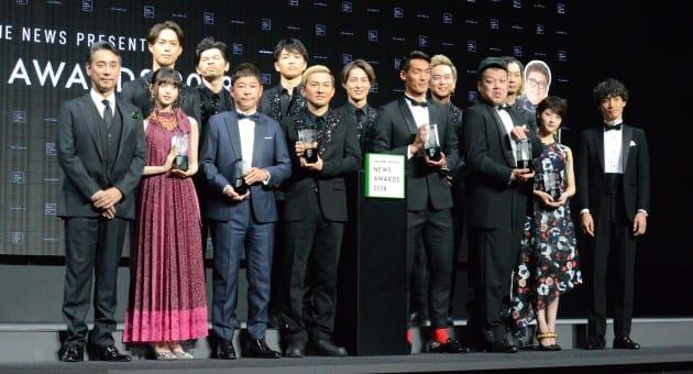 LINE NEWS AWARDS 2018の受賞者たち