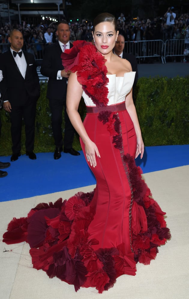 Ashley Graham at the 'Rei Kawakubo/Comme des Garcons: Art Of The In-Between' Costume Institute Gala