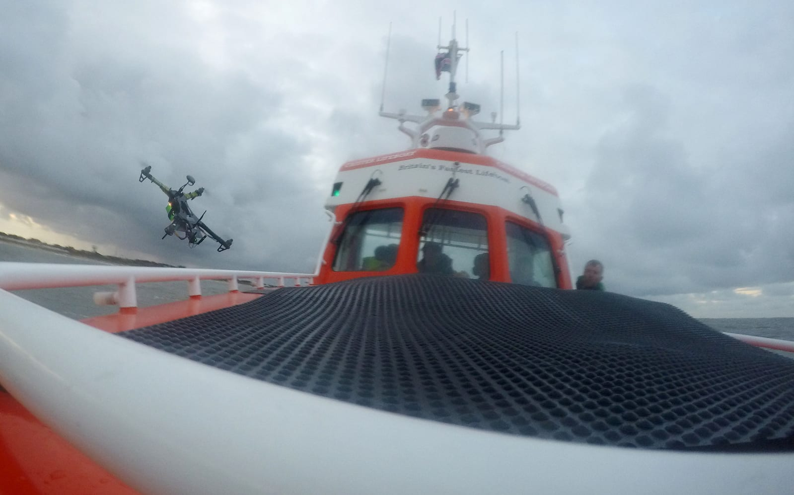 Lifeboat service at Caister trial drones