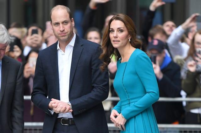 The Duke and Duchess of Cambridge Visit The BBC
