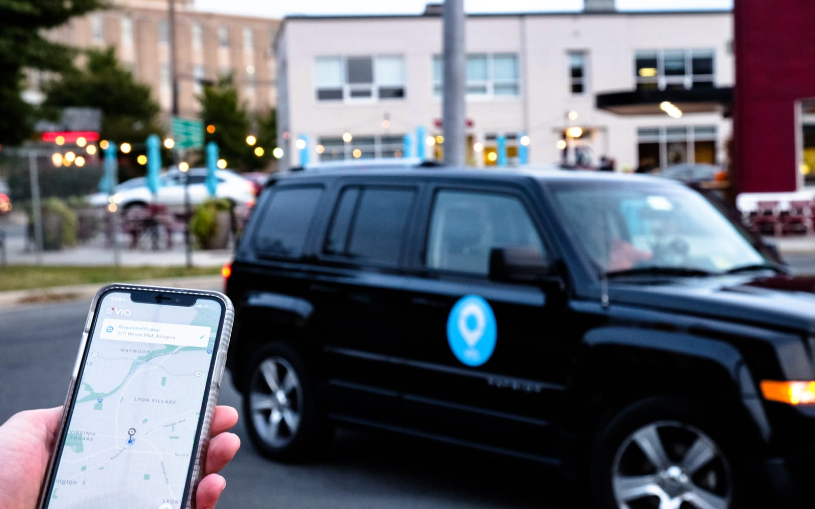 Via now provides veterans with free rides in the DC area