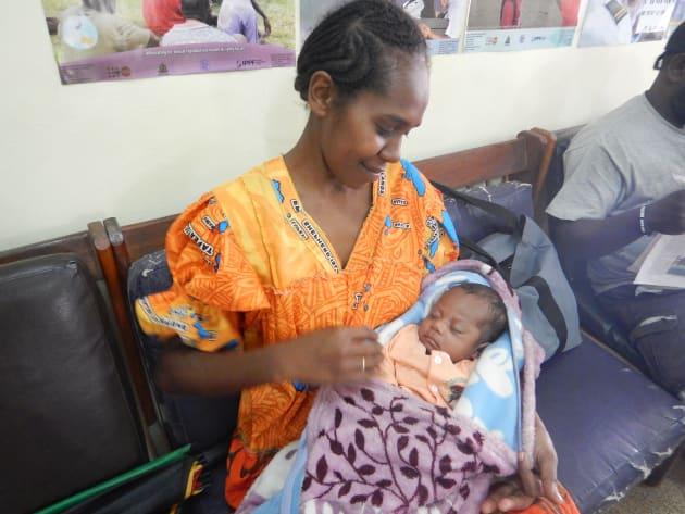 妊娠中の検診から産後の家族計画について相談し、出産6週後から避妊薬の使用を促進しています。お母さん達が産後検診に戻ってきてくれる時がとても嬉しい瞬間です。