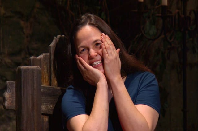 Giovanna Fletcher has won 'I'm a Celebrity... Get Me Out of Here!' 2020 (ITV/Shutterstock)