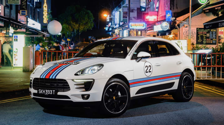 Porsche Macan Crossovers Done Up Like Classic Race Cars Autoblog