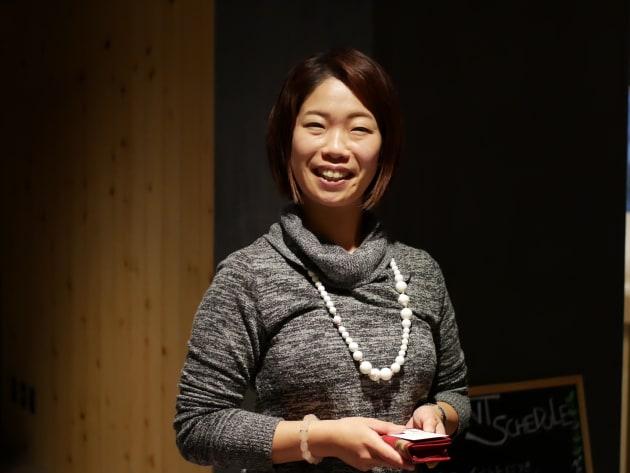 事業について、チャーミングケアについて語ってくれた田村さん