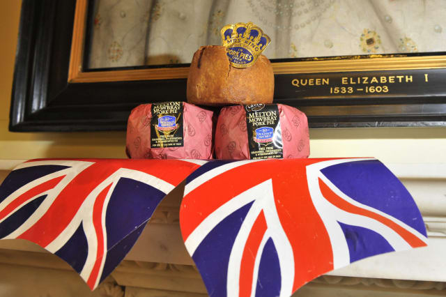 Celebration of British food at Downing Street