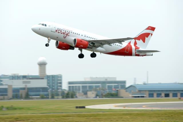 Air Canada Rouge Airbus A319 Inaugural Flight