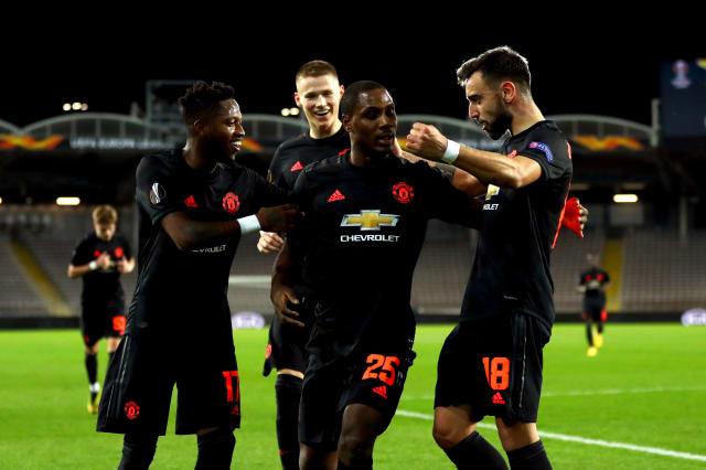 Spectacular Odion Ighalo strike helps Man Utd thrash LASK in Europa League