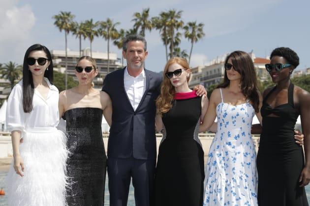 Elenco e diretor do inédito '355' se reuniram em Cannes na última quinta (10).