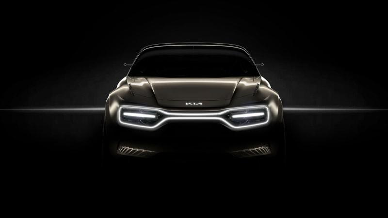 Kia teases muscular concept car